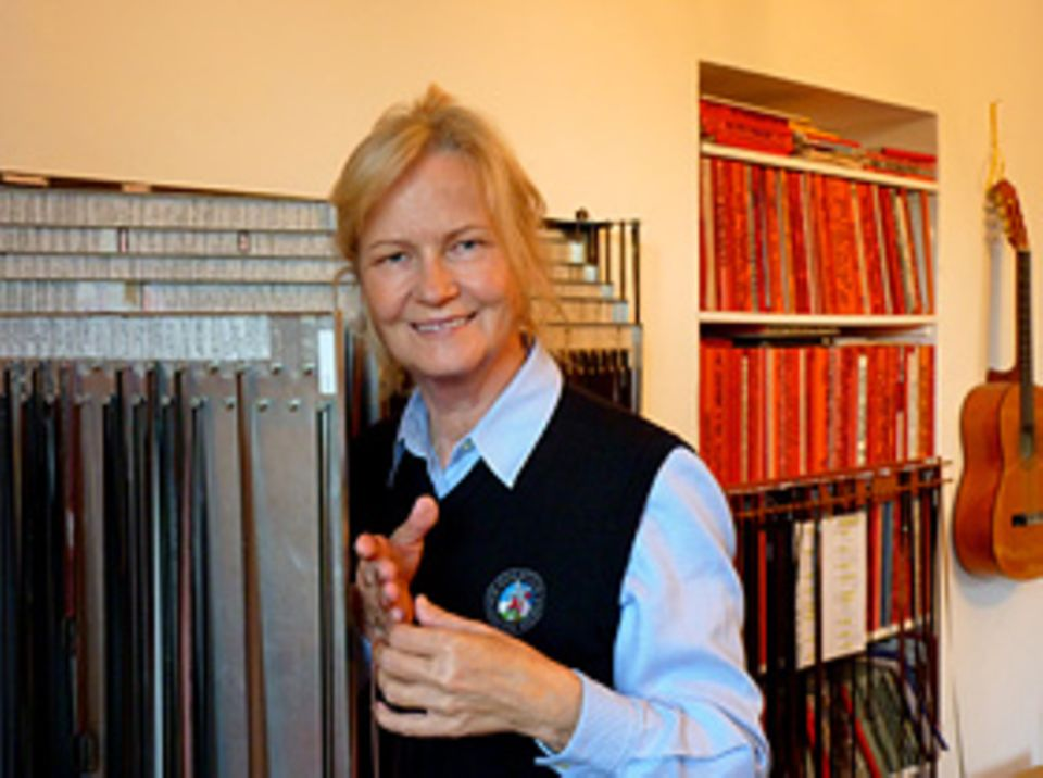 Beruf: Auf Tonspuren wie diesen versammelt Heikedine Körting insgesamt etwa hunderttausend Töne in ihrem Archiv