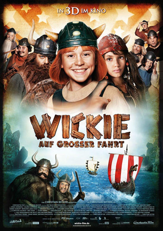 """Kinotipp: Das offizielle Filmplakat zu """"Wickie auf großer Fahrt"""""""