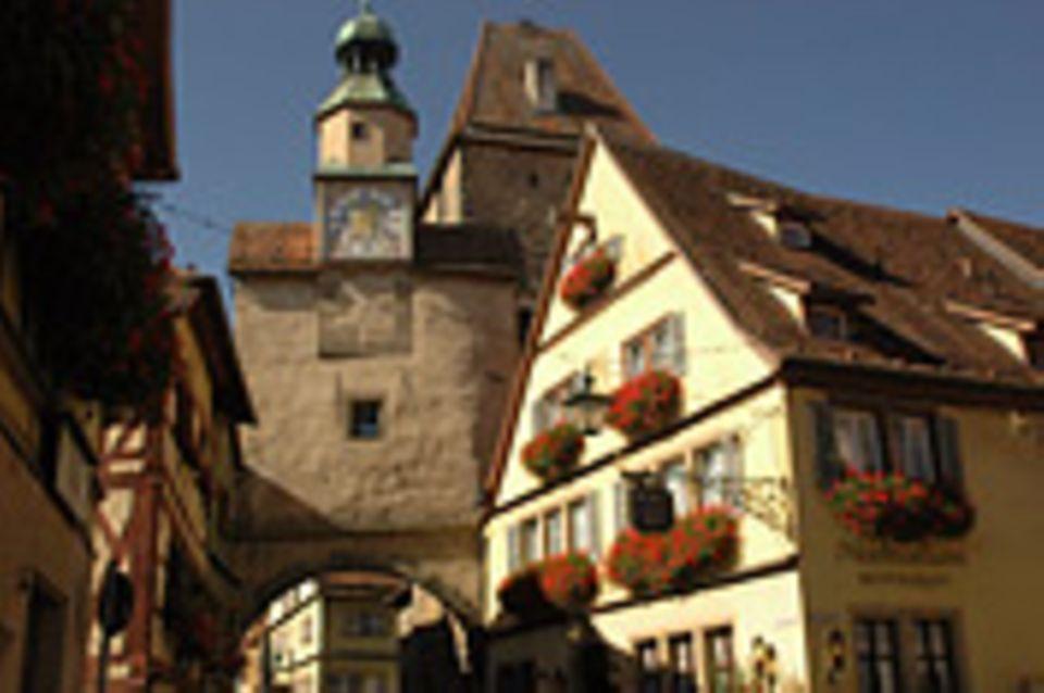 Rothenburg ob der Tauber: Zuhause unter Gästen
