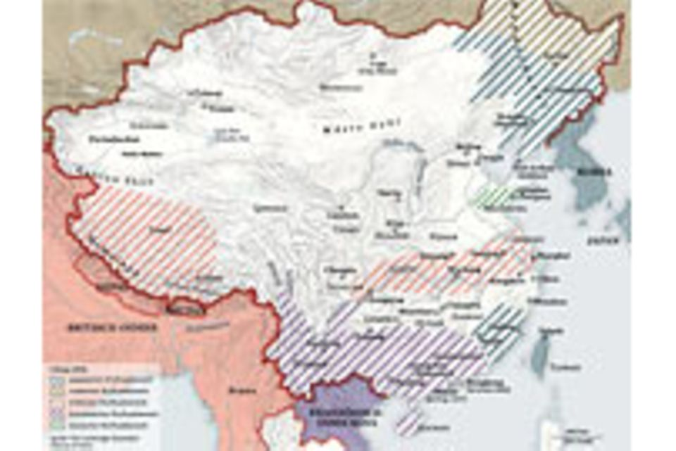 Leseprobe: Zeitleiste - Das China des Mao Zedong