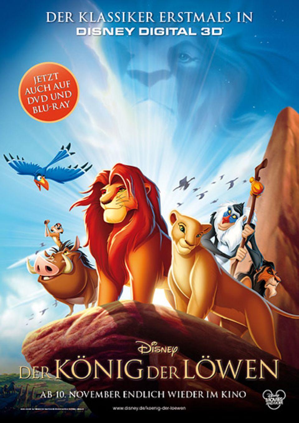 """Kinotipp: Das offizielle Filmplakat zu """"Der König der Löwen"""""""