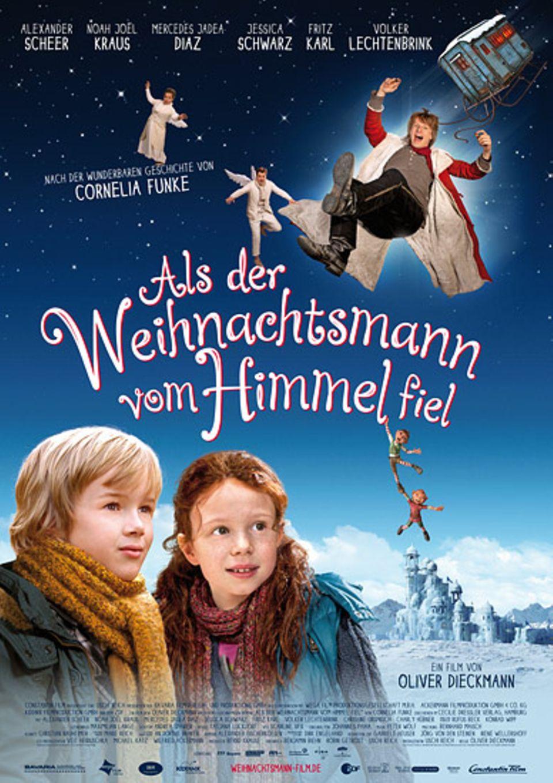 Kinotipp: Das offizielle Filmplakat zu Als der Weihnachtsmann vom Himmel fiel