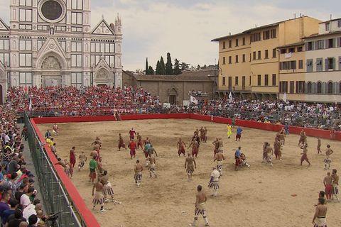 Florenz, Fußball bis aufs Blut