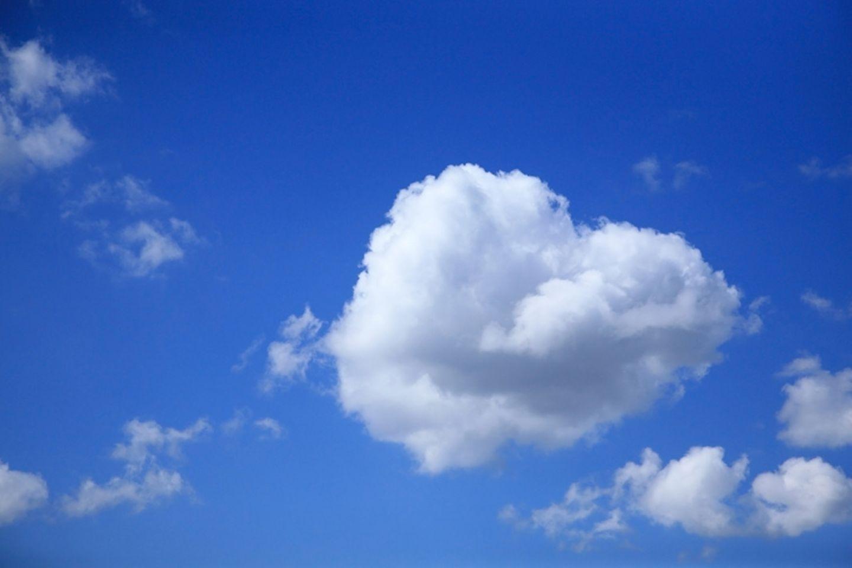 Redewendung: Sieht sie so aus, die Wolke 7?