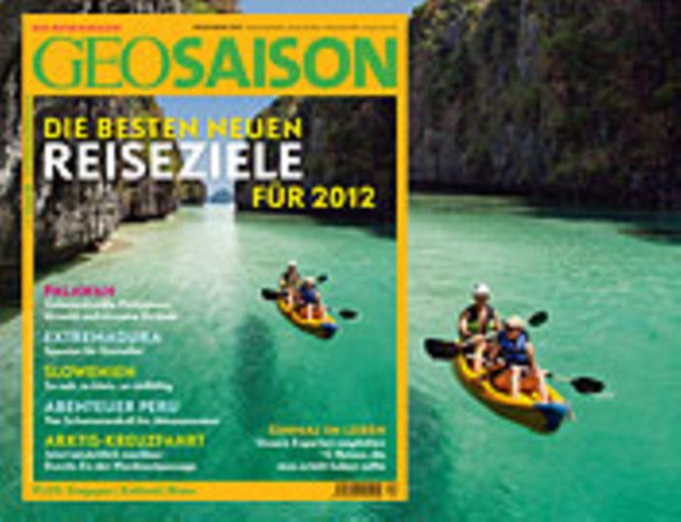 Heftvorschau 12/2011: GEO SAISON 12/2011