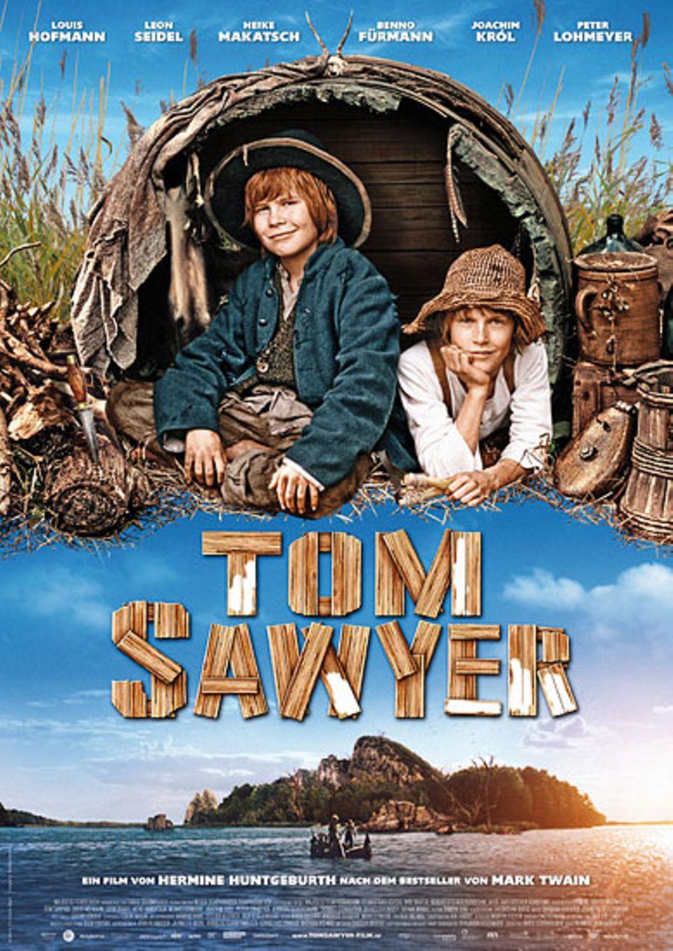 """DVD-Tipp: Tom Sawyer: Das Filmplakat von """"Tom Sawyer"""""""