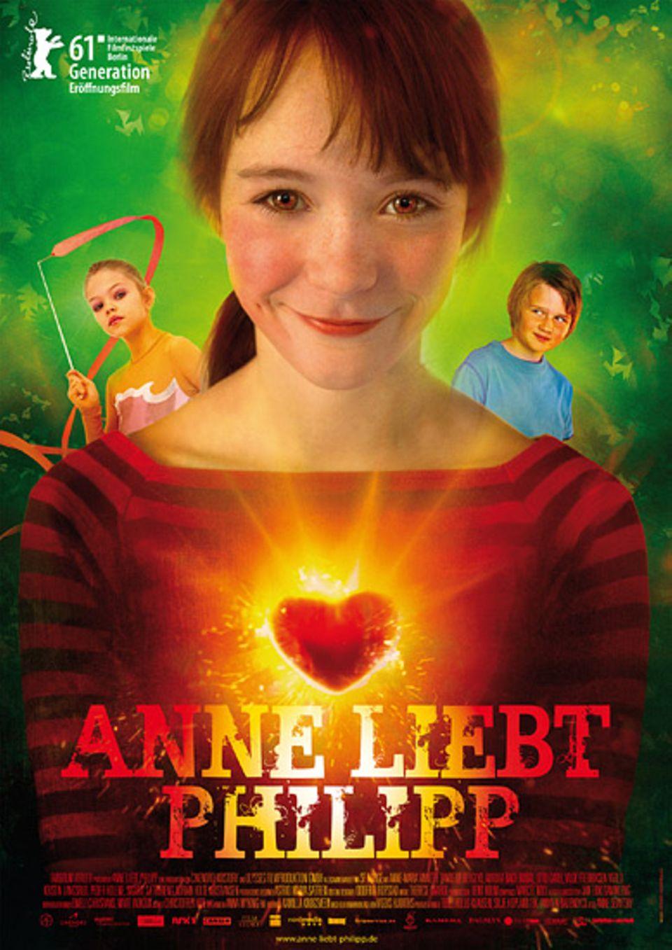"""DVD-Tipp: Das Filmplakat zu """"Anne liebt Philipp"""""""