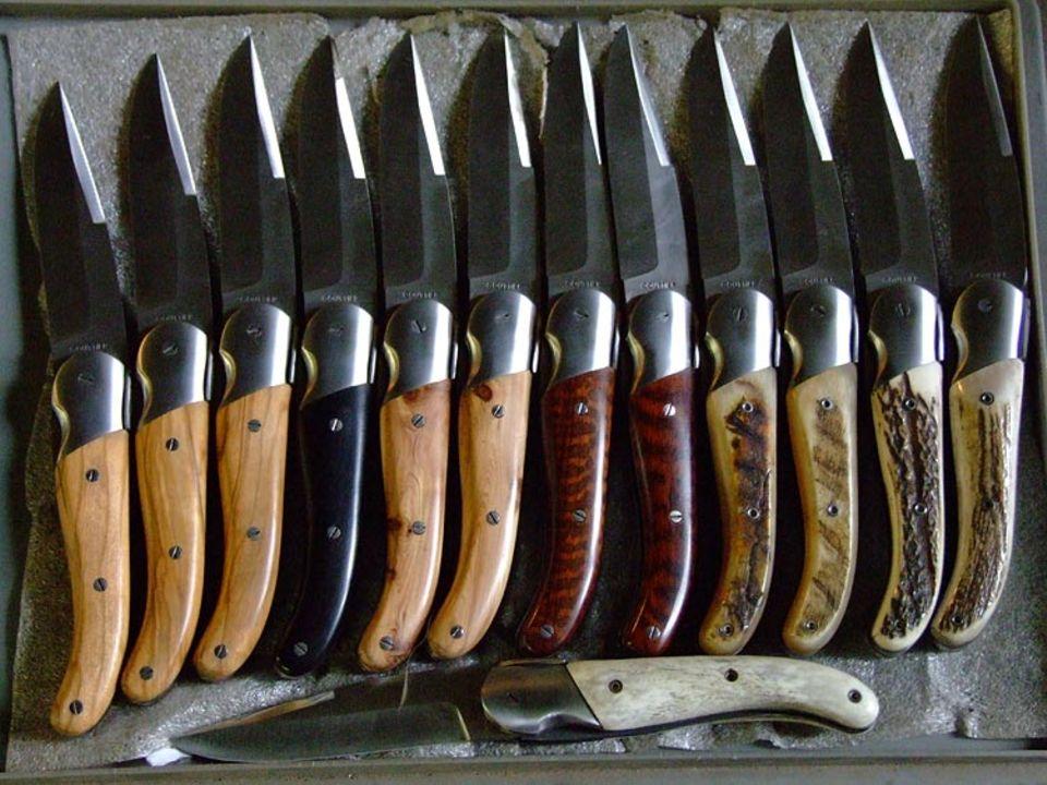 Das berühmte Laguiole-Messer stammt aus der Auvergne – in echter Handarbeit von großen Meistern geschmiedet und gefertigt