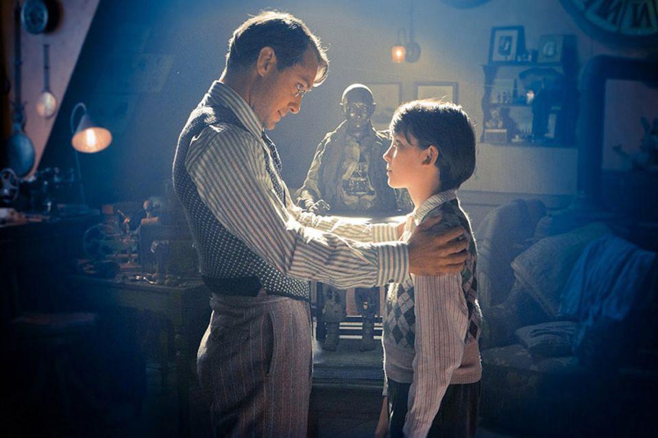 Kinotipp: Hugos Vater hat dem Jungen eine geheimnisvolle Figur hinterlassen...