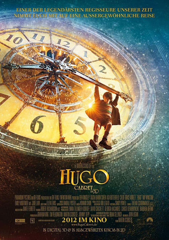 """Kinotipp: Das Filmplakat zu """"Hugo Cabret"""""""