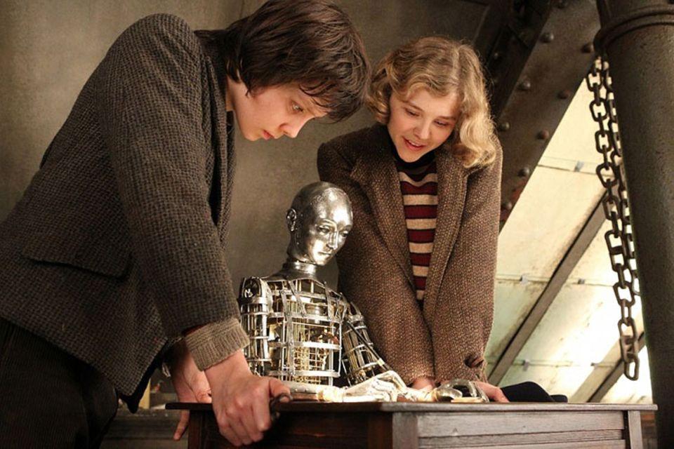 Kinotipp: Zusammen mit Isabelle gelingt es Hugo, den mechanischen Mann zu reparieren
