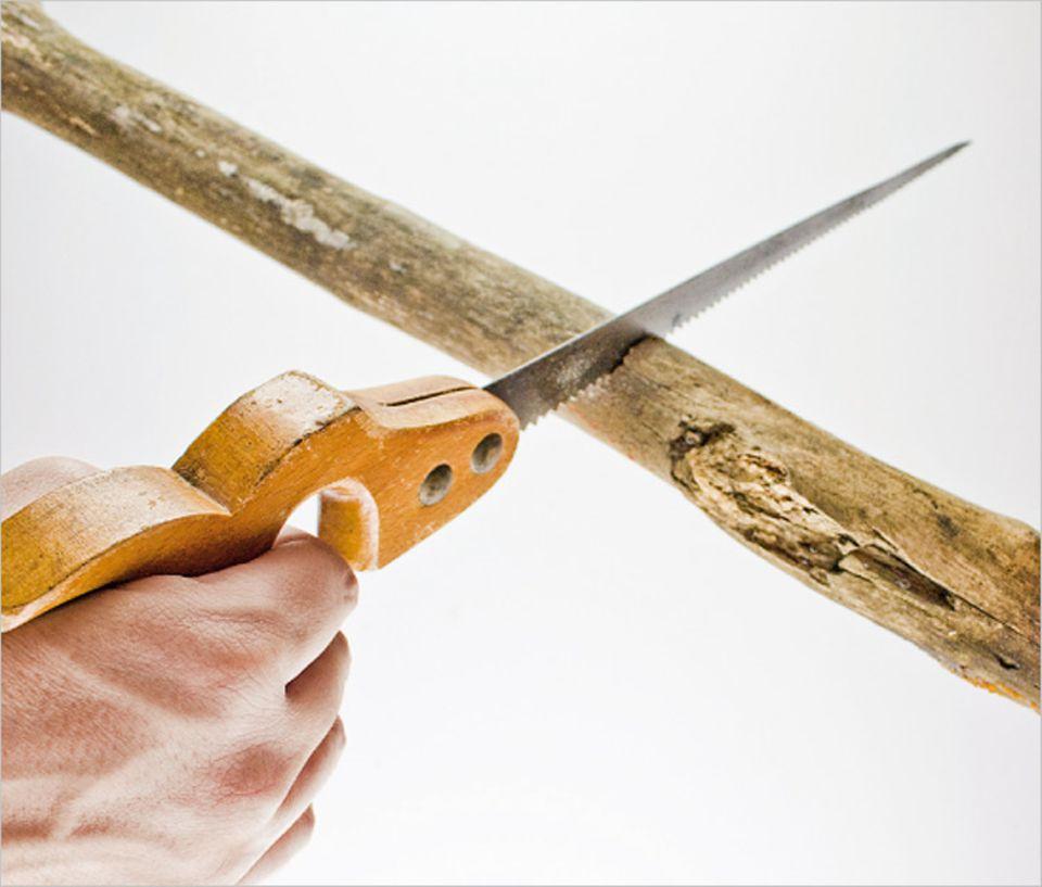 Verkleiden: Werkzeuge der Steinzeit