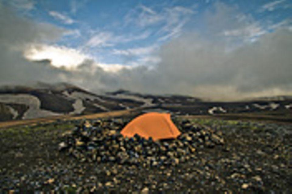 Island-Abenteuer: Eine reist, viele zahlen