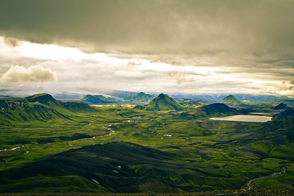 Einsam und unberührt: die Landschaft Islands