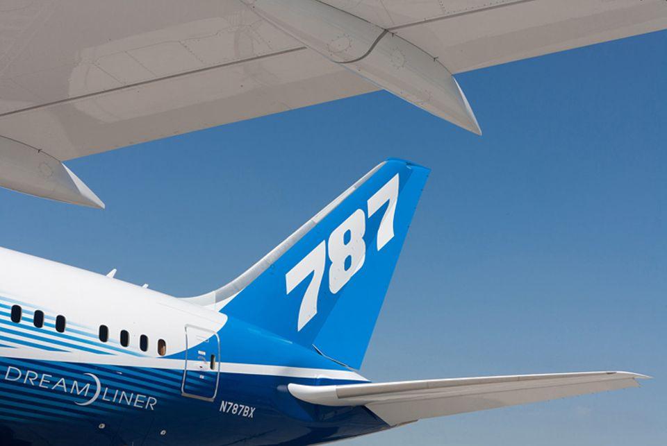 """Flugreisen: Die neue Boeing 787, auch bekannt unter dem Namen """"Dreamliner"""""""