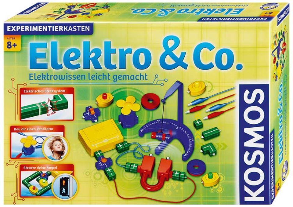 """Experimentierkasten: """"Elektro & Co"""" lädt zu mehr als 60 Versuchen"""