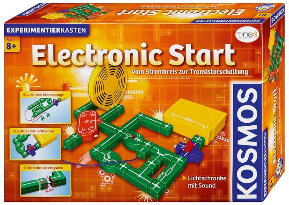 """Experimentierkasten: Im Baukasten """"Electronic Start"""" findet ihr noch mehr Elektrobauteile"""