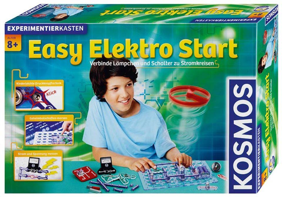 """Experimentierkasten: Und der """"Easy Elektro Start"""" rundet das Angebot von KOSMOS ab"""