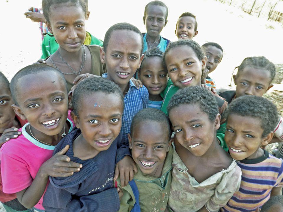 Kinder aus Kuti