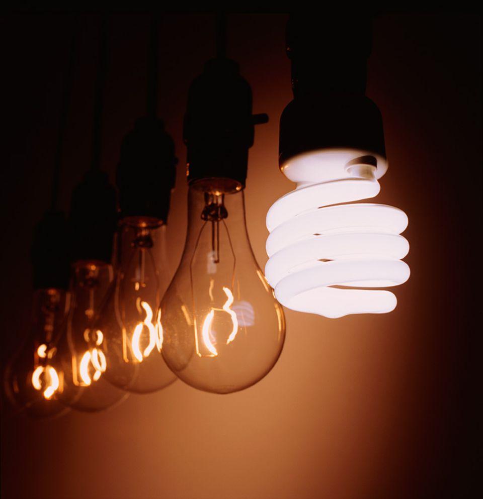 Rebound-Effekt: Energiesparlampe hin oder her: Sparen kann man nur, indem man weniger verbraucht