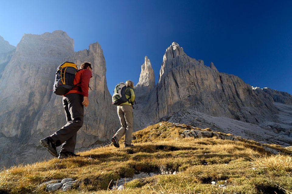 Aktivurlaub: Einzigartig schön - eine Wanderung durch die Dolomiten