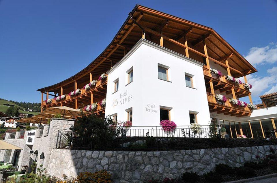 Übernachten: Hotel Nives