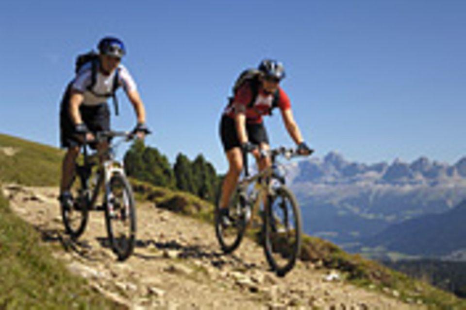 Aktivurlaub: Aktivurlaub: Radeln in den Dolomiten