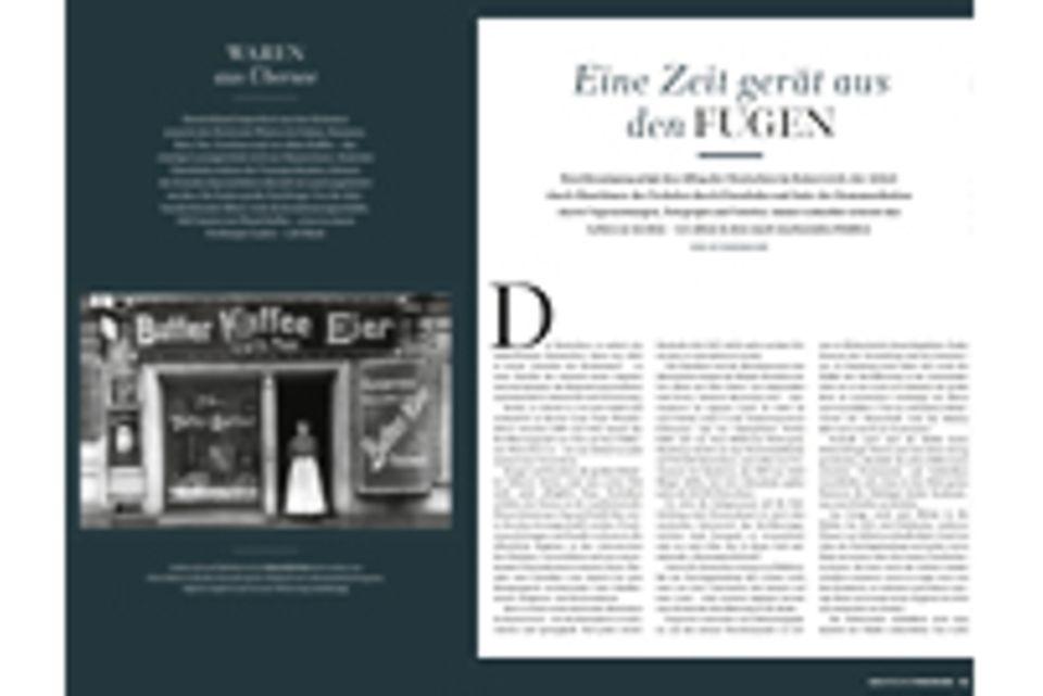 Deutsches Kaiserreich: Leseprobe: Eine Zeit gerät aus den Fugen