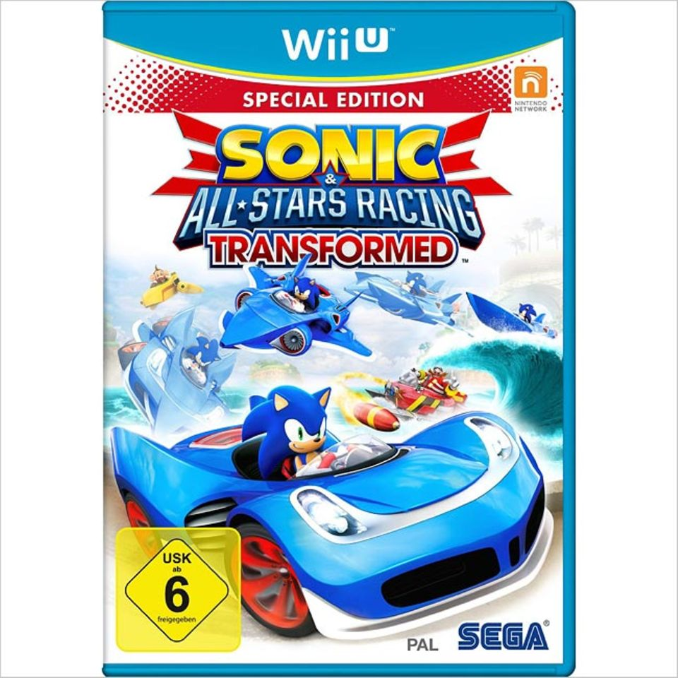"Spieletests: Tolles Spielerlebnis: ""Sonic All Starts Racing Transformed - Special Edition"""