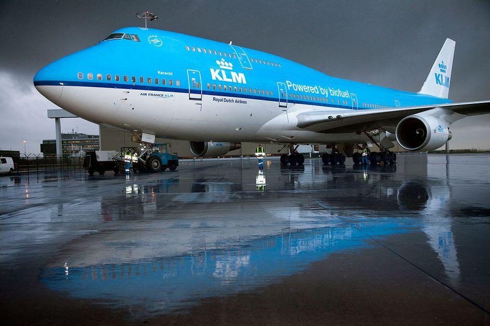 KLM: Frittierfett über den Wolken