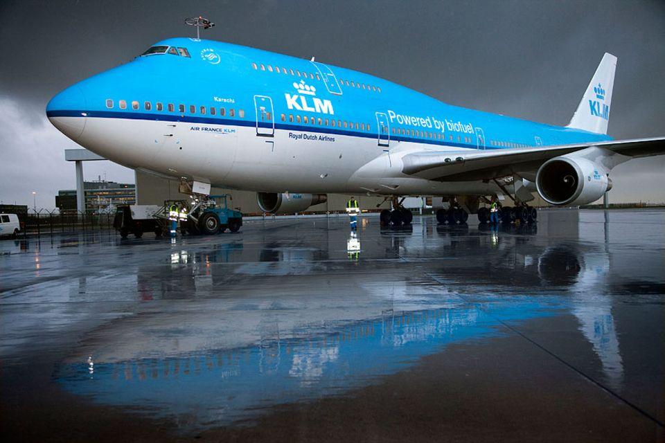 KLM: Gut gemeint von der KLM, aber auch altes Speiseöl wird das Fliegen nicht umweltfreundlicher machen
