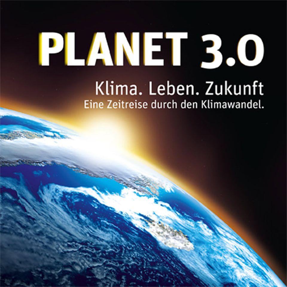 """Klima, Leben und Zukunft. Um diese drei Themen dreht sich alles in der Ausstellung """"Planet 3.0"""""""