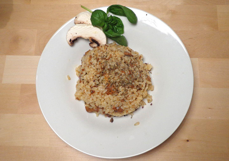 Vegetarisches Rezept: Übung macht den Meister: Das erste Pilz-Risotto wird ganz sicher nicht euer bestes, aber es lohnt sich zu üben