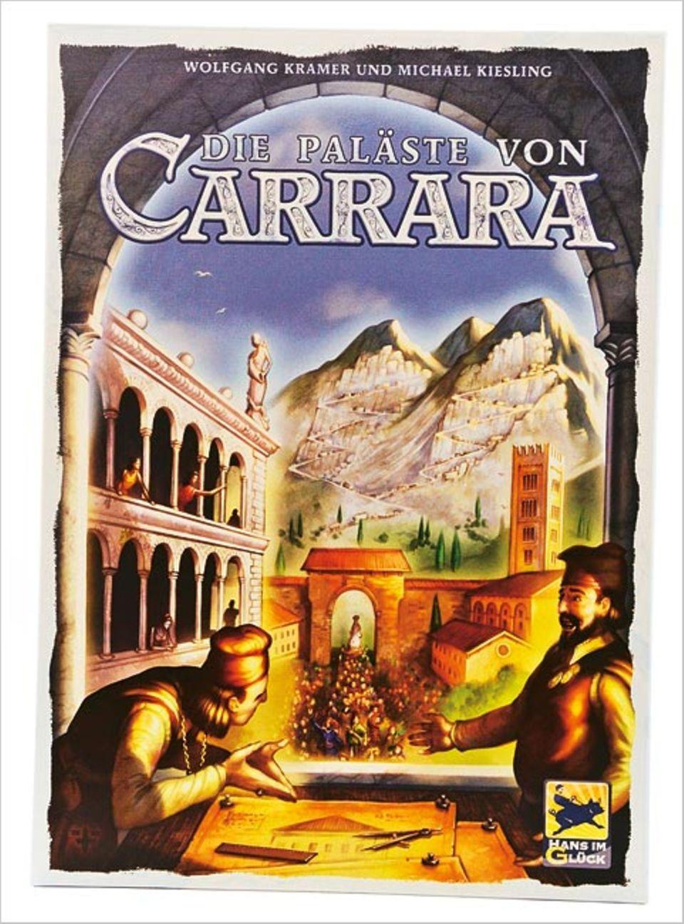 Brettspiel: Spieltipp: Die Paläste von Carrara