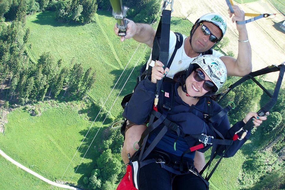 Paragliding in Südtirol: Zwischen Wiese und Gipfel