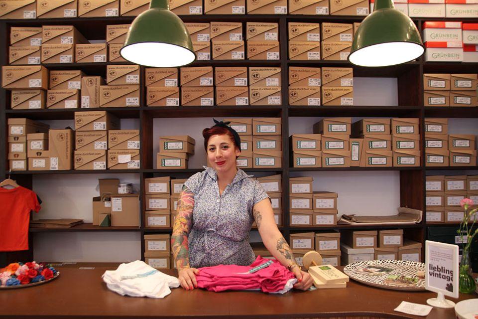 Städteguide: Josefin arbeitet im Liebling – ein Geschäft das seinem Namen alle Ehre macht