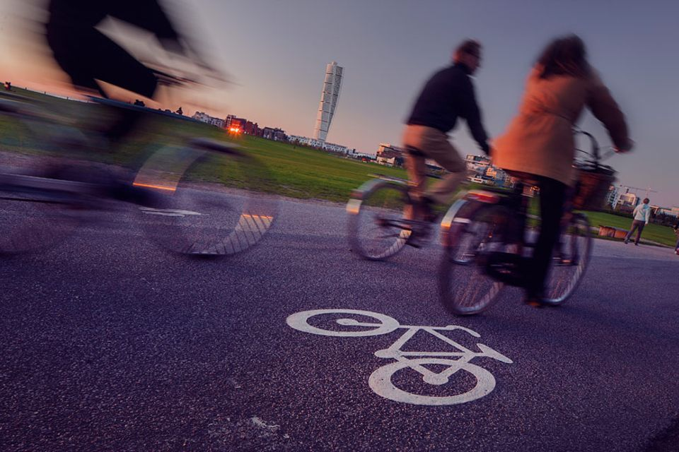 Städteguide: Radfahren ist beliebt in Malmö und alle Radwege sind gut ausgebaut