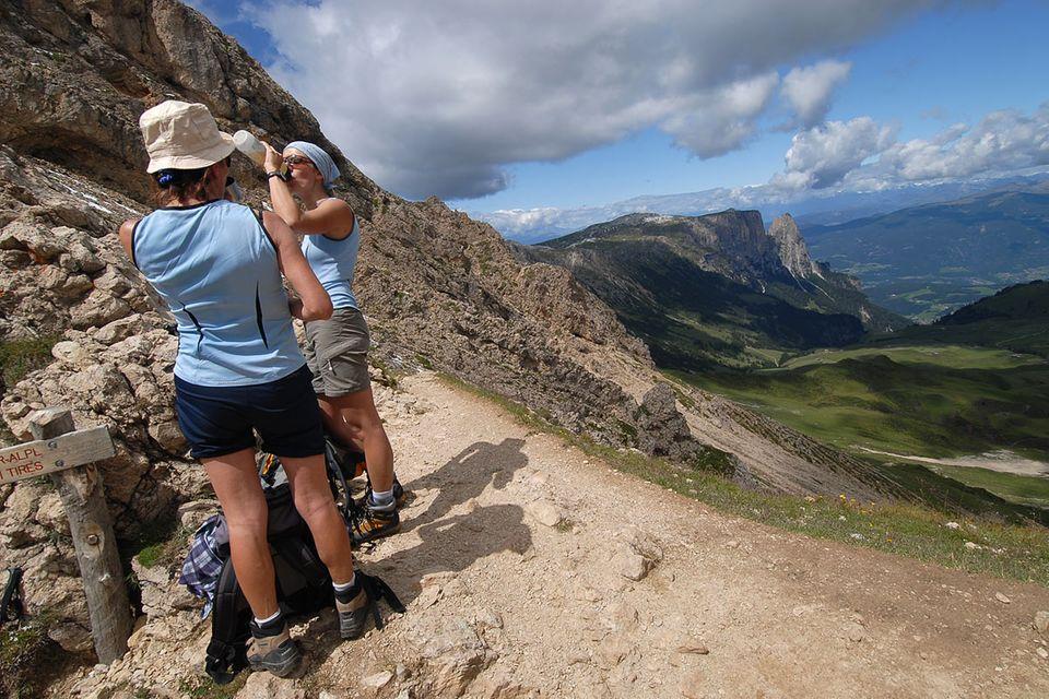 Wandern in Südtirol: Drei Mal hoch hinaus