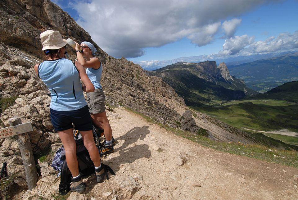 Wandern in Südtirol: Den Ausblick von der Rosszahnscharte können etwas trainiertere Wanderer genießen