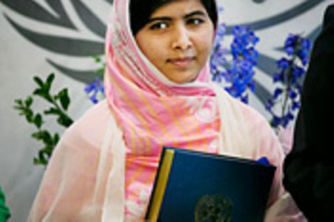Schreibwettbewerb-Sieger: Brief an Malala