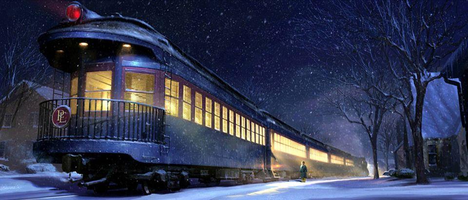 Reisephänomene: Einer von vielen: Der Film Polarexpress spielt fast ausschließlich in einem Zug