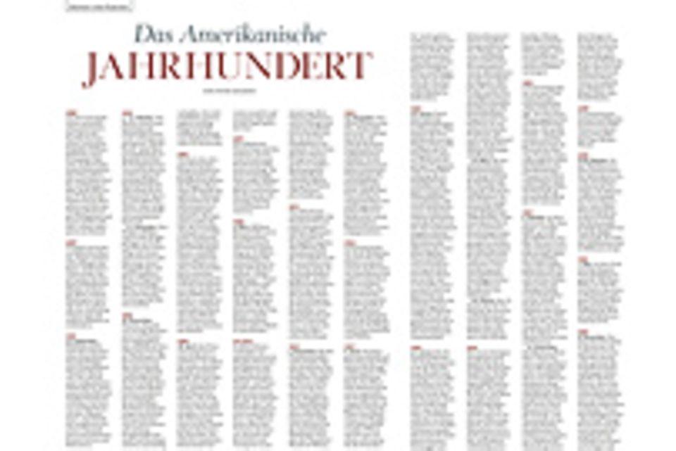 Das Amerikanische Jahrhundert: Chronik: Das Amerikanische Jahrhundert