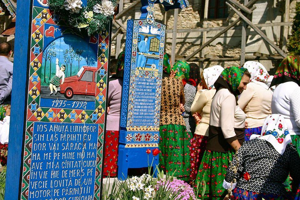 Der Fröhliche Friedhof von Rumänien