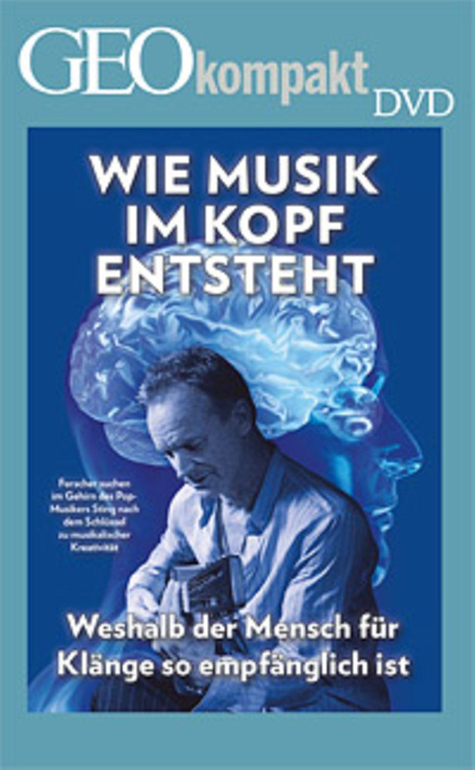 """GEOkompakt Nr. 36 """"Unsere Sinne"""" ist auch mit DVD erhältlich"""