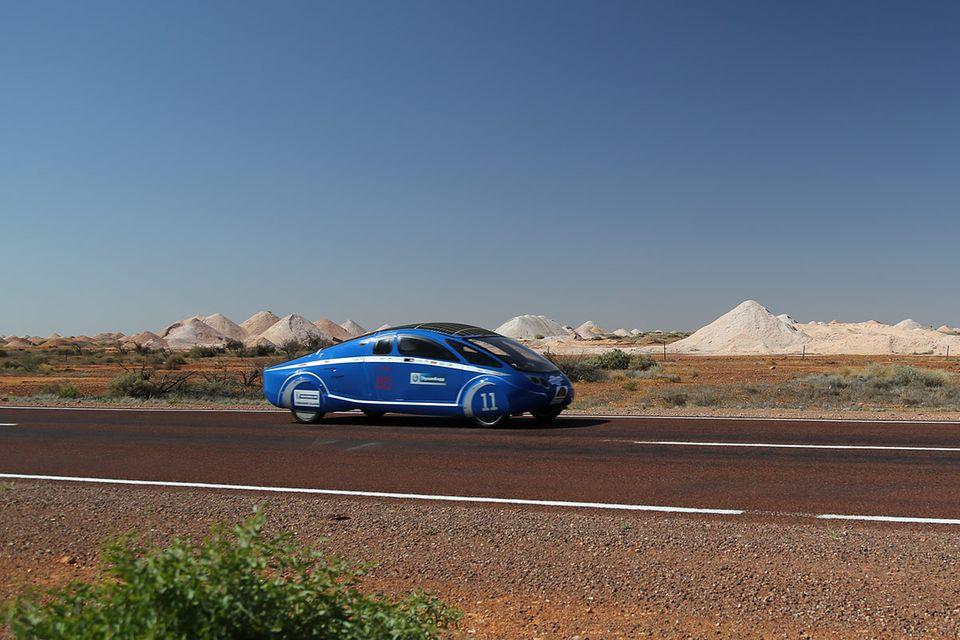 Elektromobilität: 3000 Kilometer mit der Kraft der Sonne
