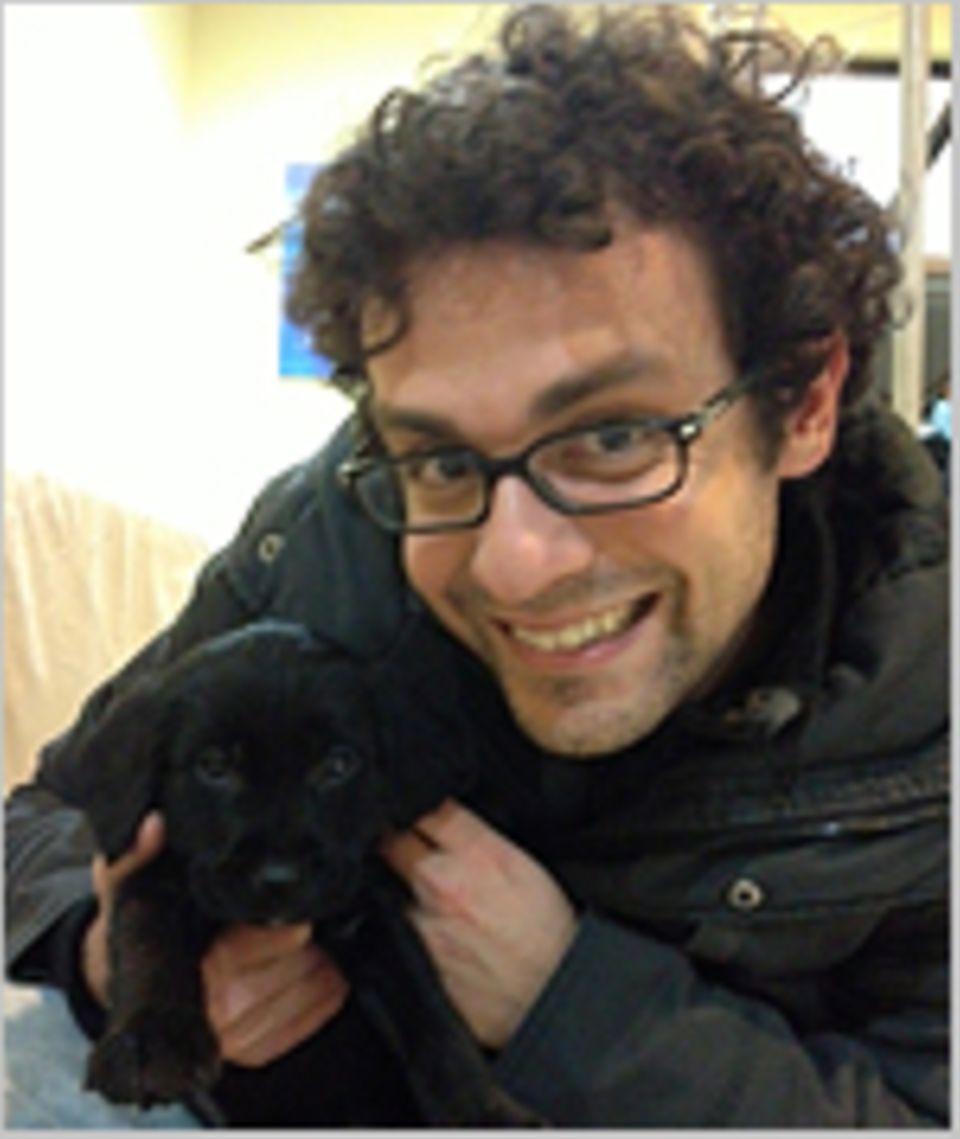 Tierversuche: Ein Herz für Tiere: Adriano Varrica, Europa-Kampagnenleiter von STOP VIVISECTION