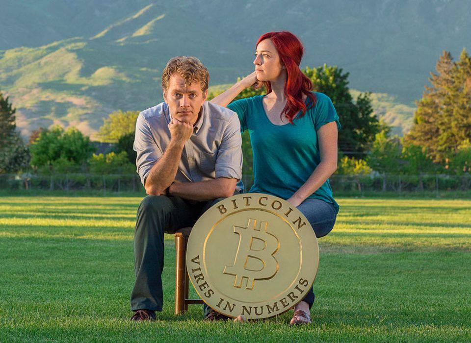Internet-Währung: Austin und Beccy Craig schafften es lediglich auf der Basis von Bitcoin einmal um die Welt zu reisen