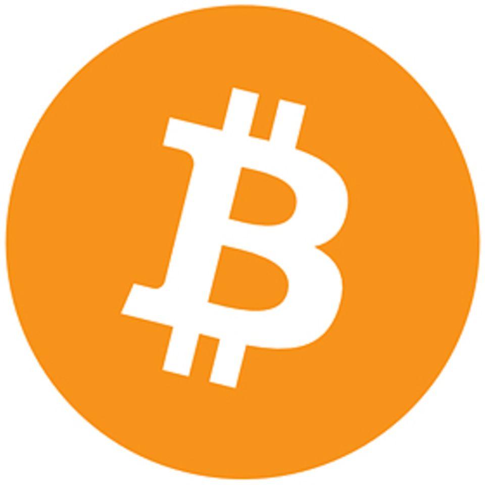 Internet-Währung: Alle Institutionen, Geschäfte und Restaurants mit diesem Zeichen akzeptieren Bitcoins