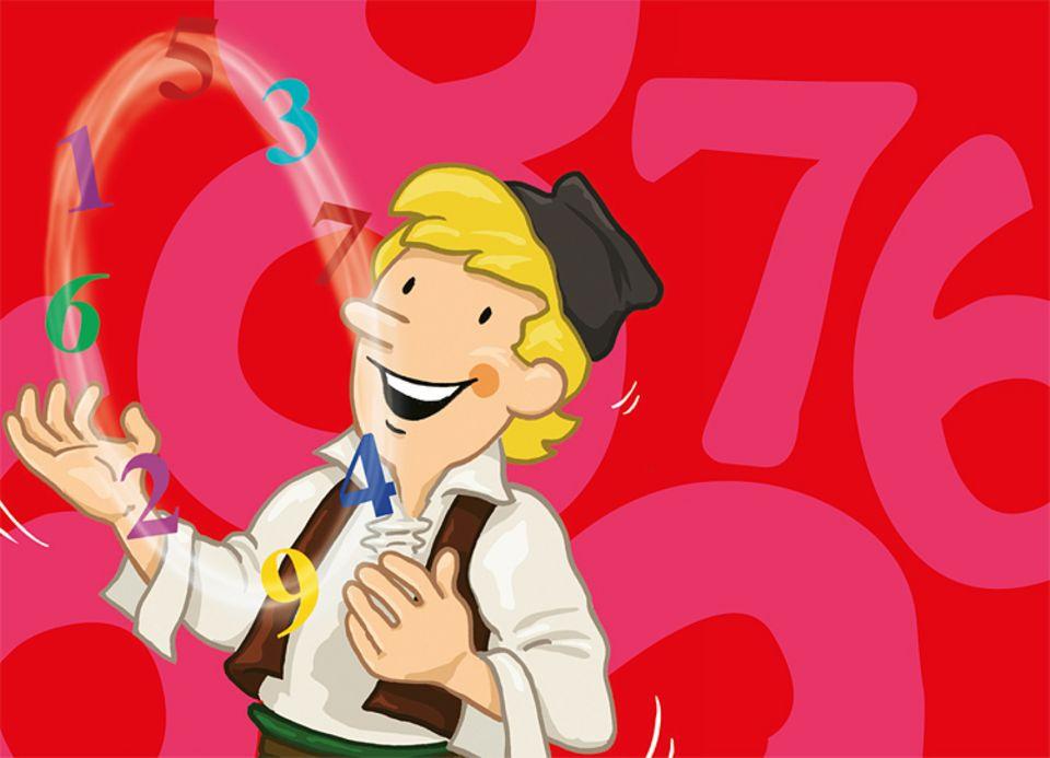 Mathematik: Gaus konnte mit Zahlen jonglieren. Ihr jetzt auch!
