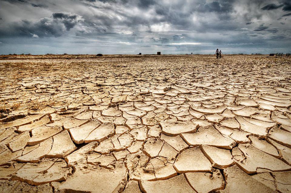 Klimareport: Extreme Hitze und Dürren werden mit fortschreitendem Klimawandel wahrscheinlicher - so wie hier in Südspanien